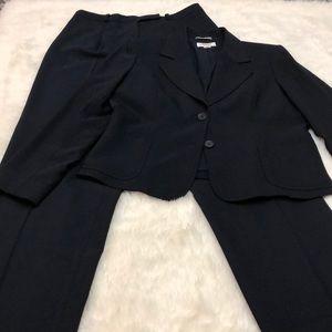 Talbots Petites blazer and pants women's suit